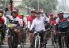 Khofifah Minta Cyclist Informasikan Percepatan Infrastruktur Indonesia