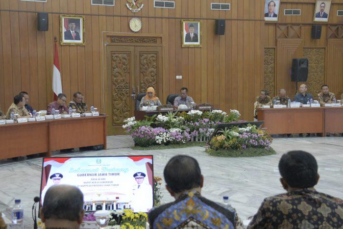 Gubernur Khofifah Ukur Kinerja OPD dari Publikasi Media