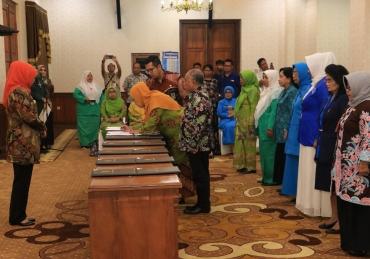 Gandeng 7 Organisasi Wanita Mitra Strategis Tangani Masalah Sosial