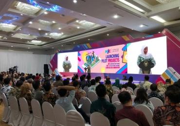 Hari ke 98, Khofifah-Emil Lauching Lima Pilot Project Jawa Timur