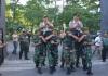 Pelepasan dan Penyambutan Kapolrestabes Surabaya, Digelar di Korem Bhaskara Jaya