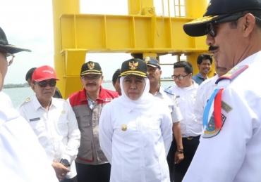 Pelabuhan Jangkar Segera Beroperasi, Pemprov Siapkan Akses Jalan