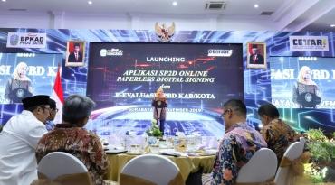 Lauching SP2D Online, Pembayaran di Pemprov Jatim Makin Cepat