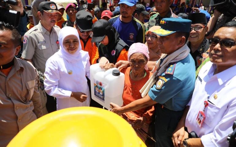 Kekeringan di Pulau Sapudi, Pemprov Jatim Salurkan 750.000 Liter Air Bersih