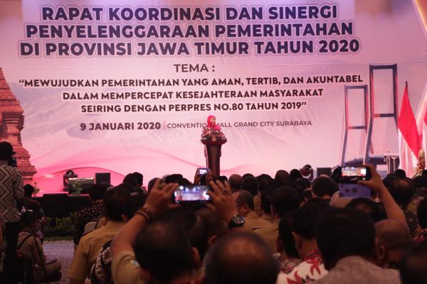 Gubernur Targetkan PPMO Perpres No.80/2019 Segera Final